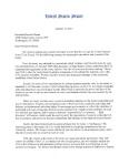 Treaty Response